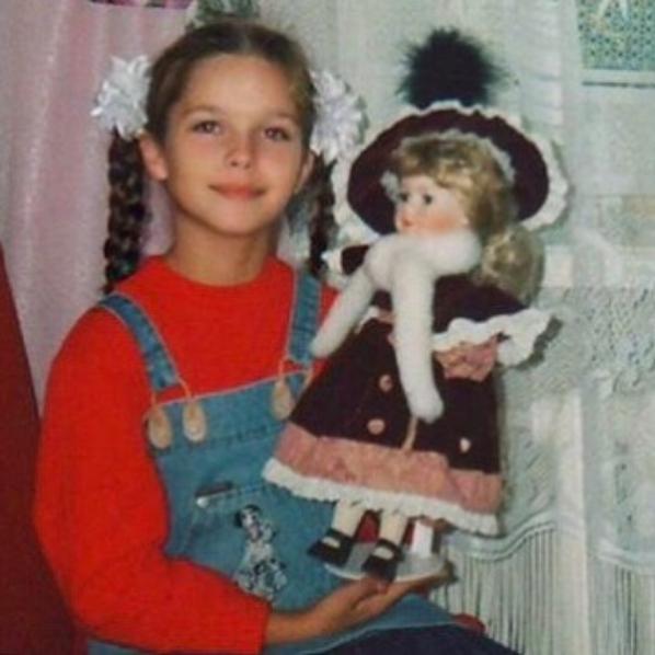 Елизавета Голованова в детстве