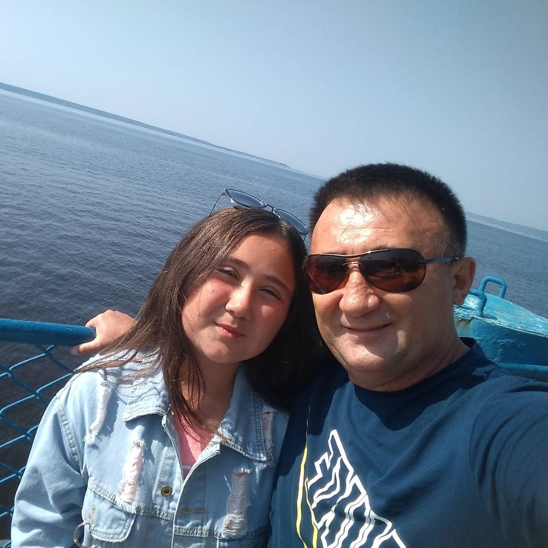 Ринат Рахматуллин с дочерью