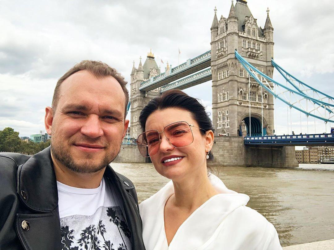Максим Темченко с женой
