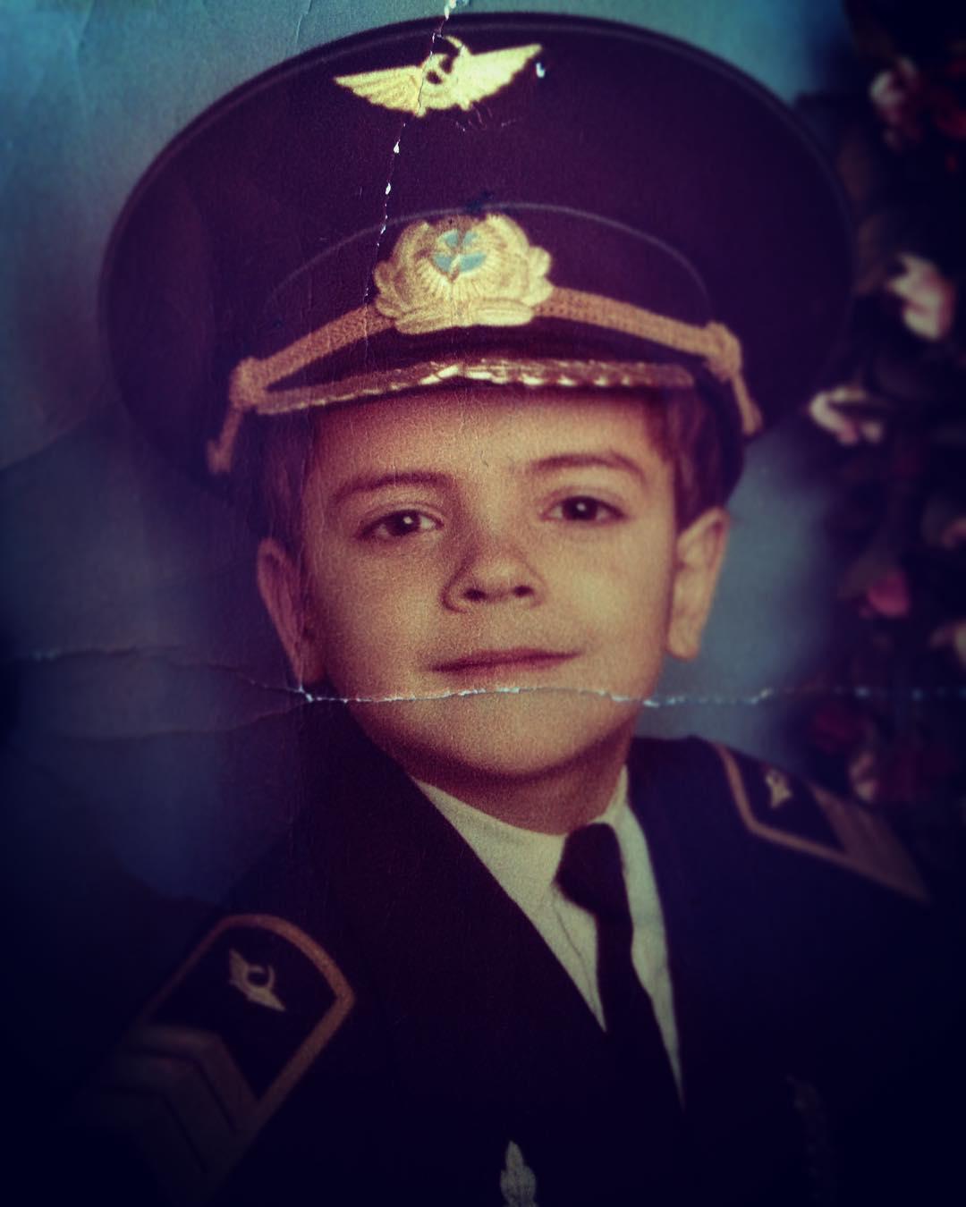 Антон Лапенко в детстве