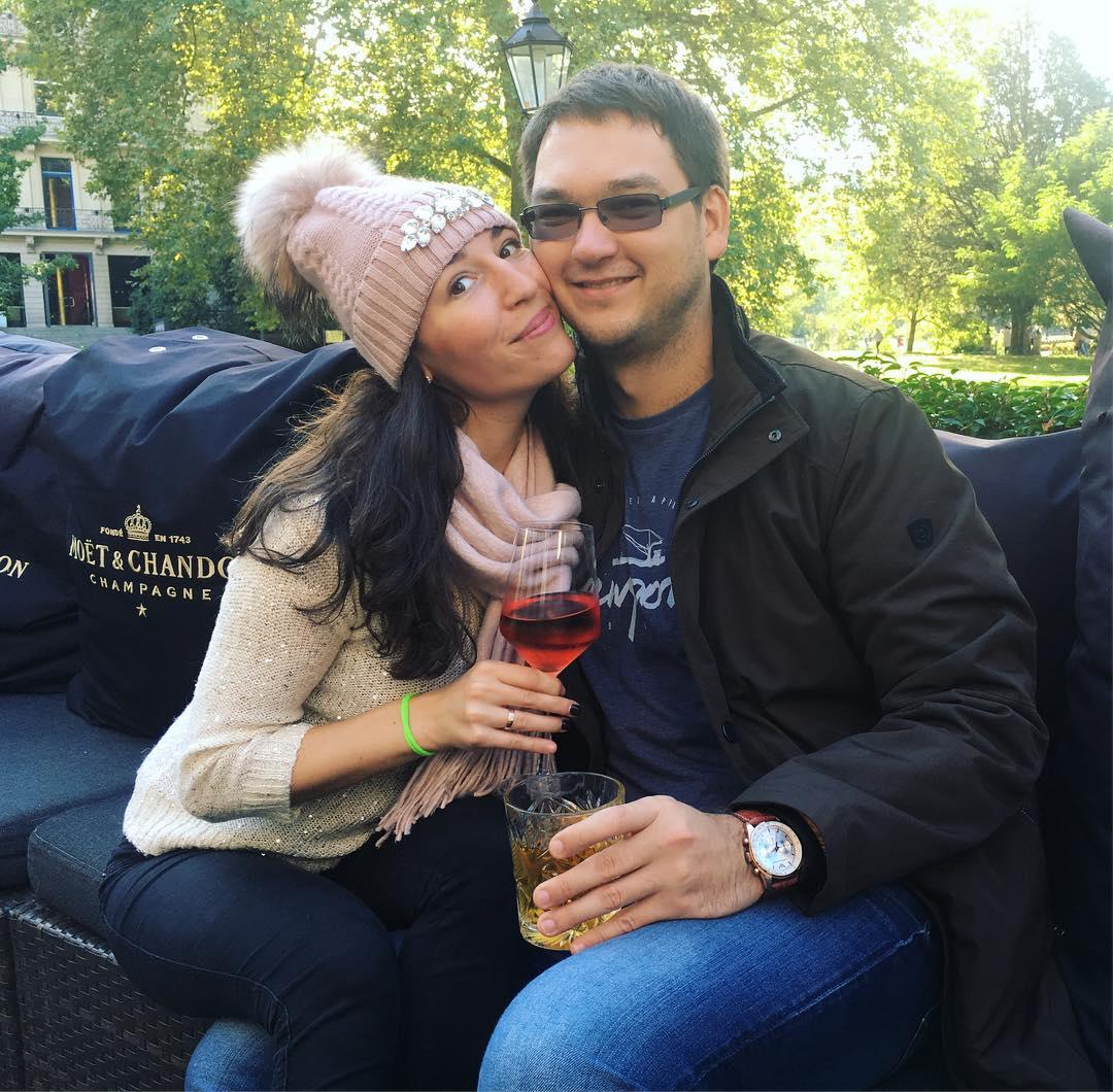 Кира Юхтенко с мужем