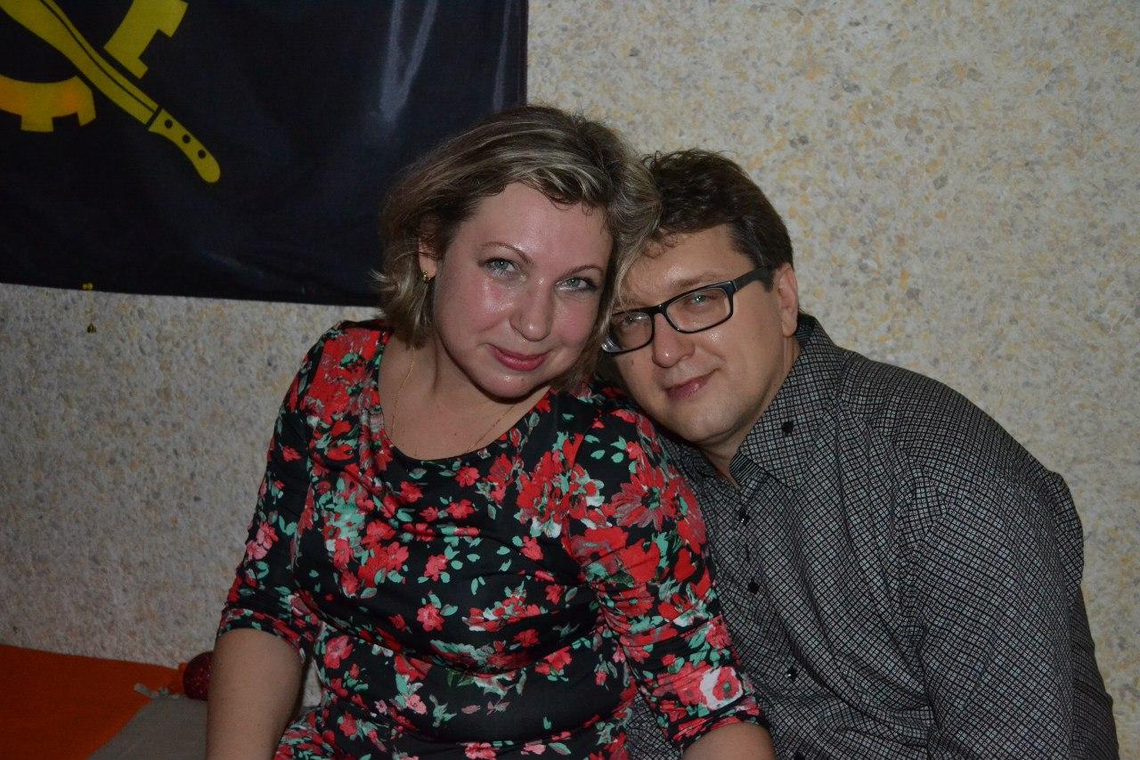 Евгений Шитов с женой