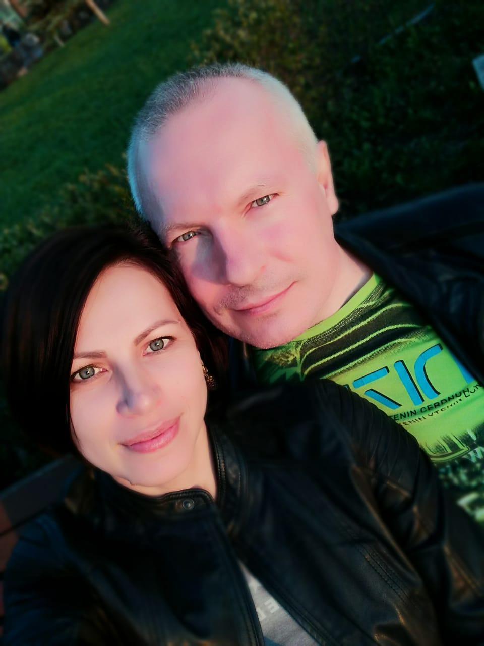 Юрий Абарин с супругой