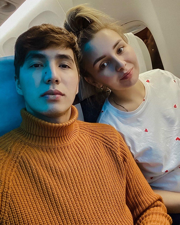 Ерболат Жанабылов с супругой