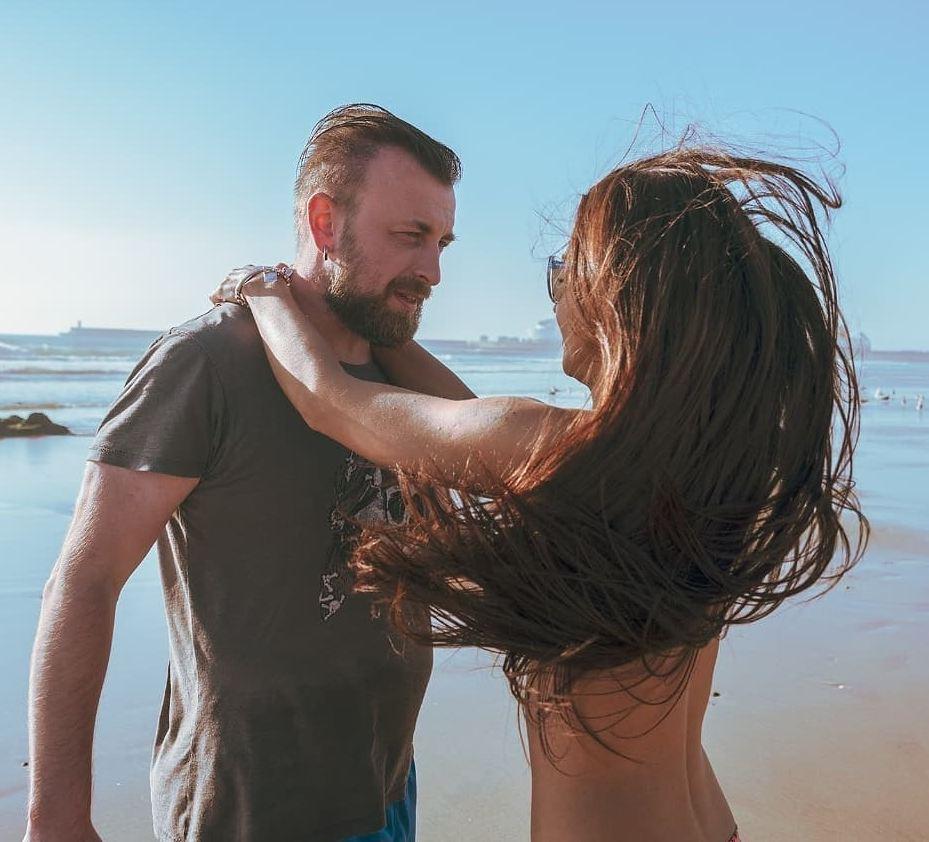 Петр Ловыгин с женой