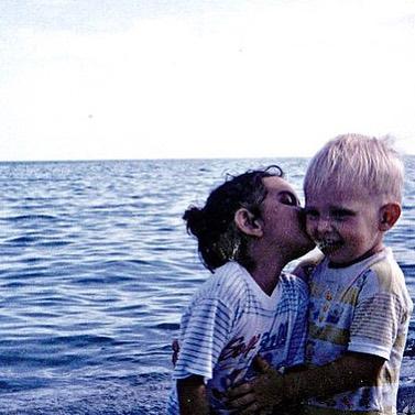 Тима Мацони в детстве