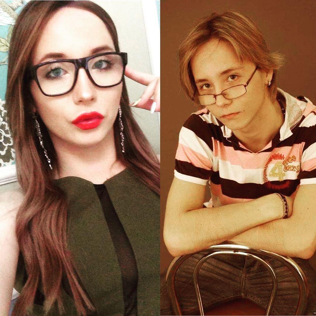 Эва Борисова до и после
