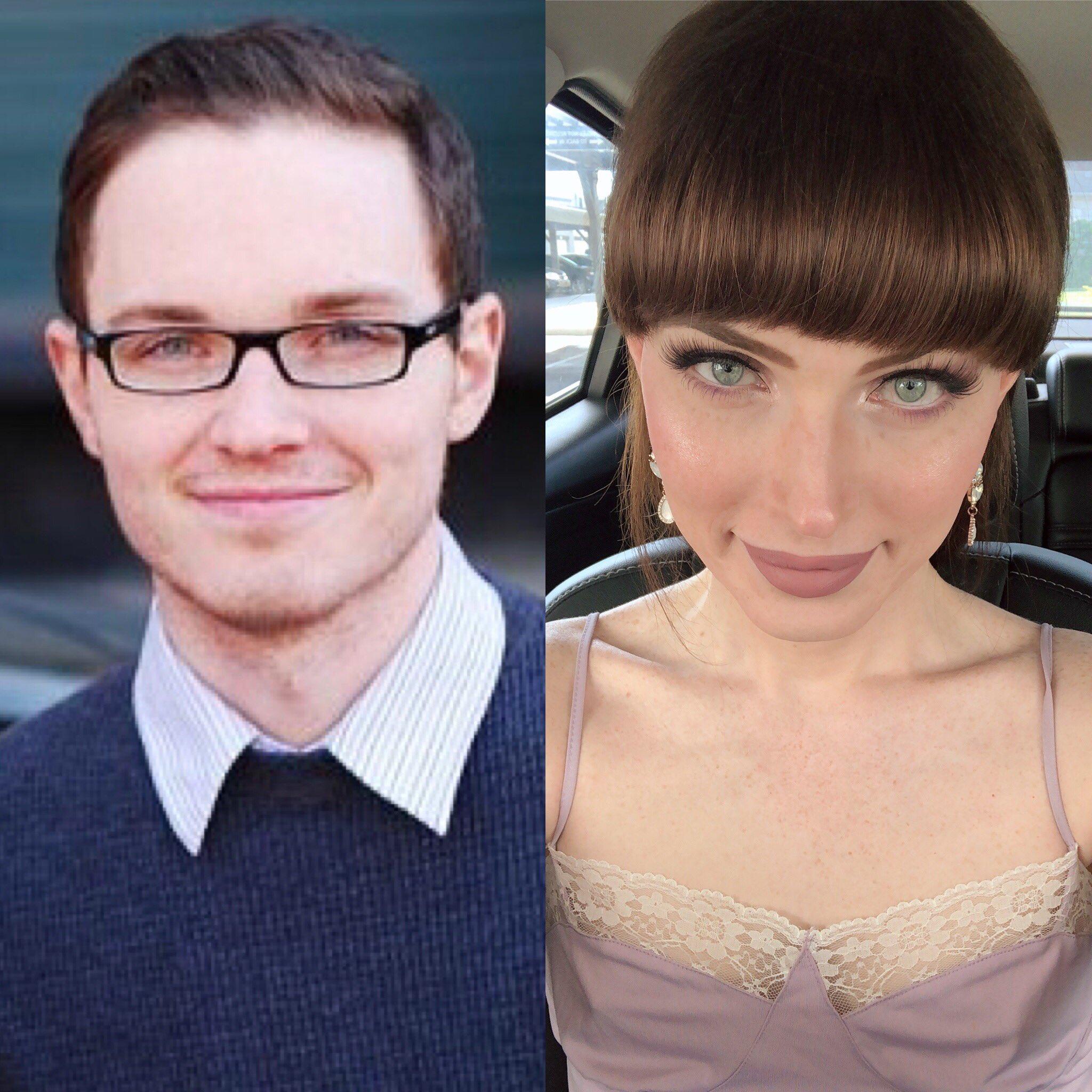 Natalie Mars до и после перехода