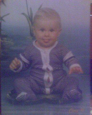 Стас Ерник в детстве
