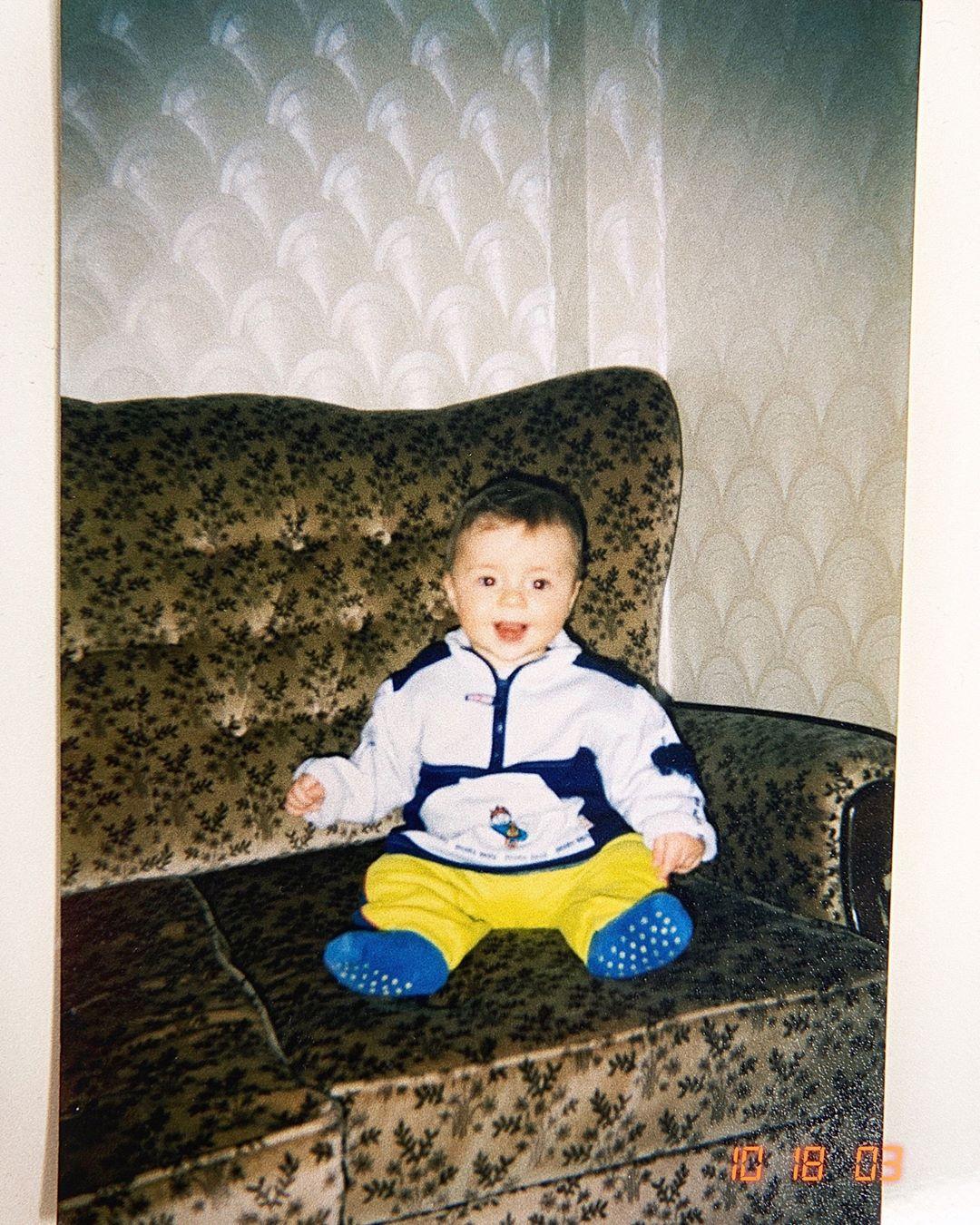 Влад Шудейко в детстве