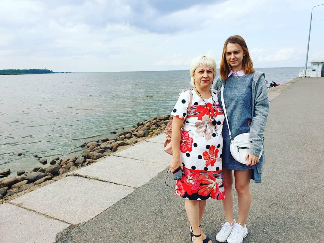 Nastjadd с мамой