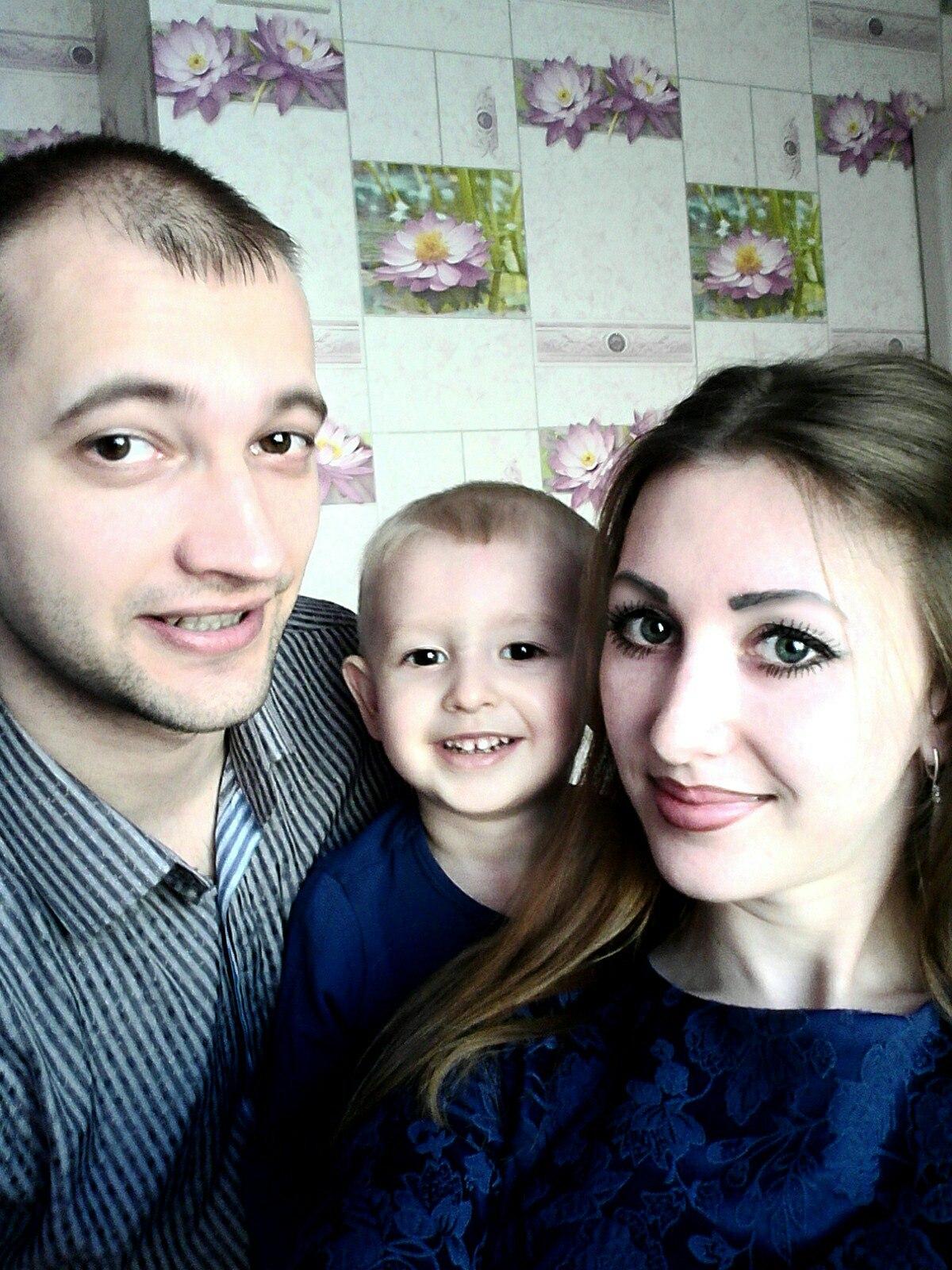 Александр Каян с женой и сыном