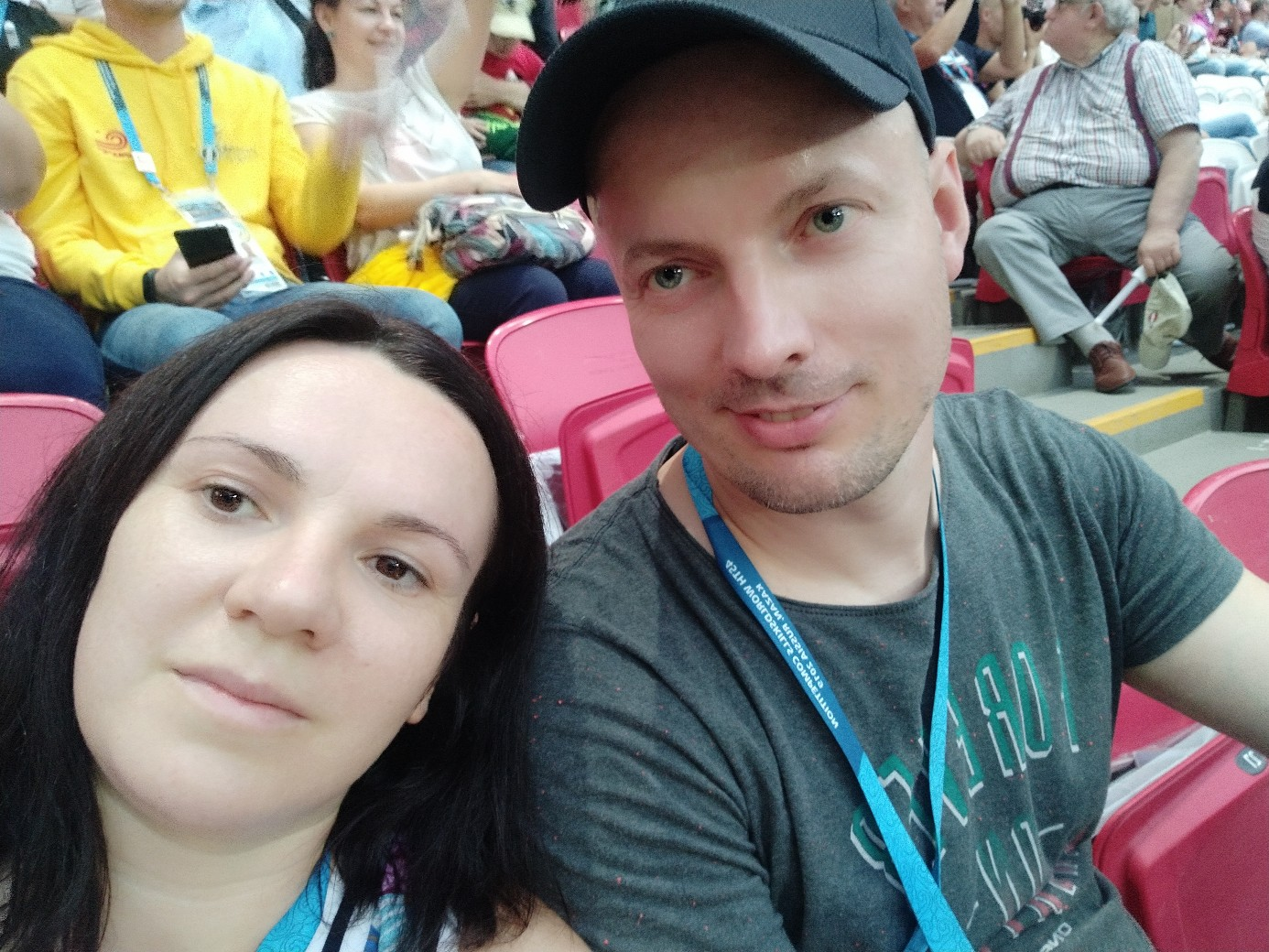Павел Сидорик с женой