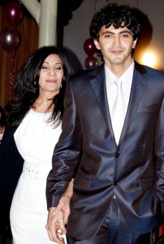 Гор Испирян с мамой