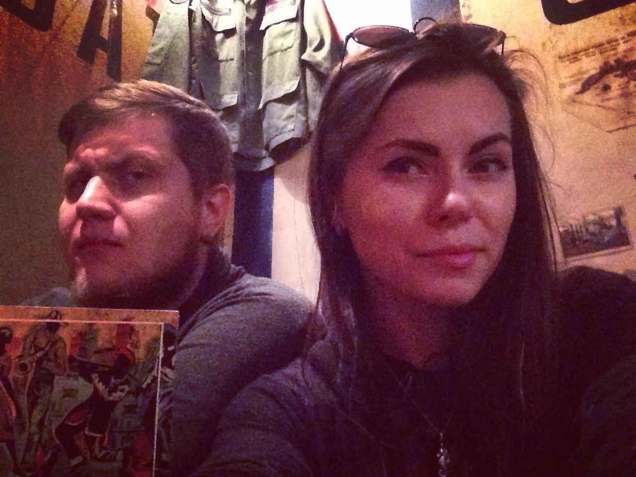 Максим Мармажов с женой